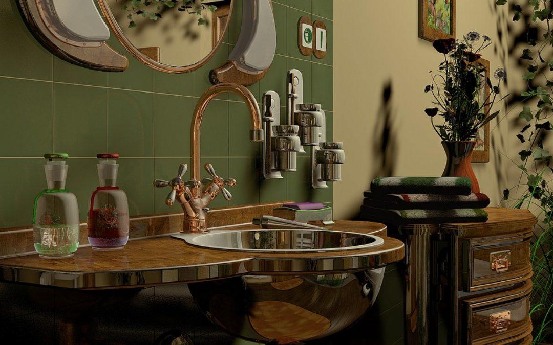 Trois styles de carrelage pour une salle de bain vintage