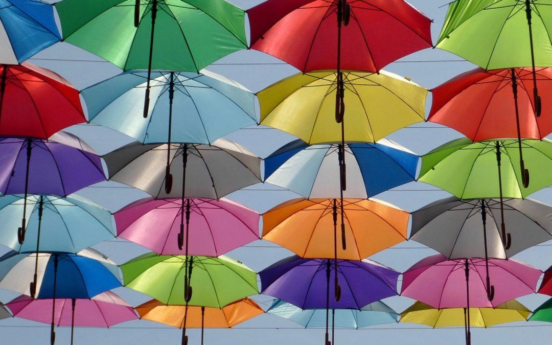 Le parapluie inversé est un accessoire de mode