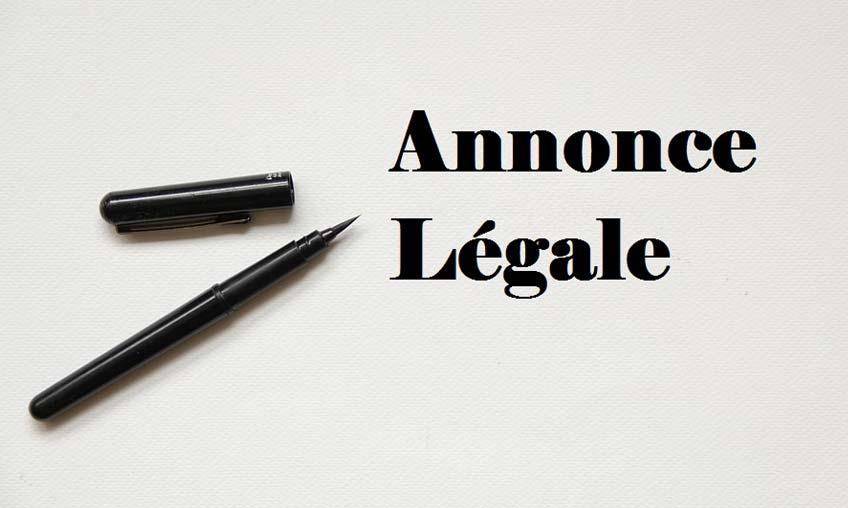 Rédiger une annonce légale en cas de cession de droit au bail